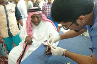 """شاهد بالصور.. """"سعود الطبية"""" تختتم حملة """"كيف السكر"""" في جوامع الرياض - المواطن"""