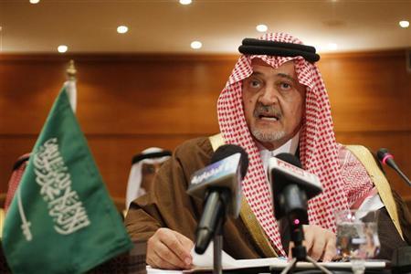 وزير الخارجية السعودي الامير سعود الفيصل