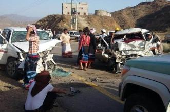 مصرع وإصابة 3 أشخاص بحادث مروري مروع بمربة - المواطن