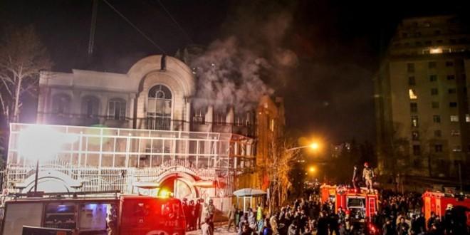 سفارة المملكة ايران
