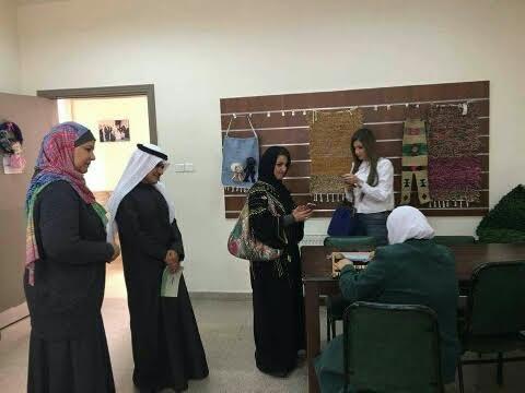 سفارة المملكة بالأردن تنظم سلسلة جولات ميدانية لوفد الاعلاميات السعوديات 1