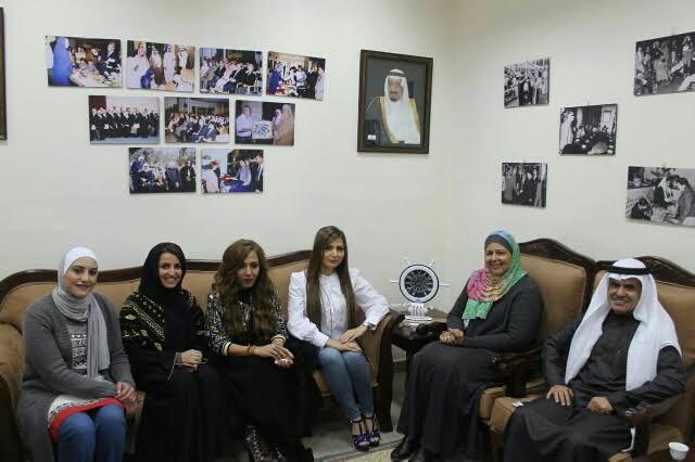 سفارة المملكة بالأردن تنظم سلسلة جولات ميدانية لوفد الاعلاميات السعوديات 2