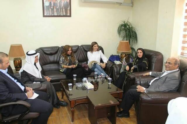 سفارة المملكة بالأردن تنظم سلسلة جولات ميدانية لوفد الاعلاميات السعوديات 4