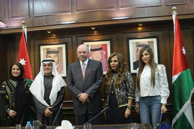 سفارة المملكة بالأردن تنظم سلسلة جولات ميدانية لوفد الاعلاميات السعوديات 5