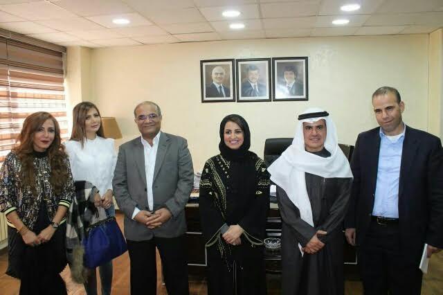 سفارة المملكة بالأردن تنظم سلسلة جولات ميدانية لوفد الاعلاميات السعوديات 6