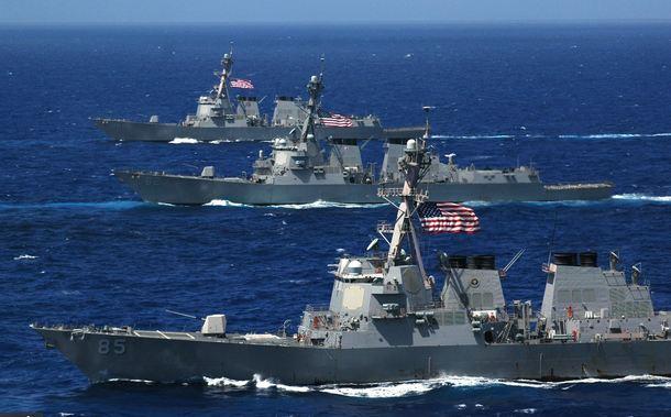 سفن-حربية-امريكية