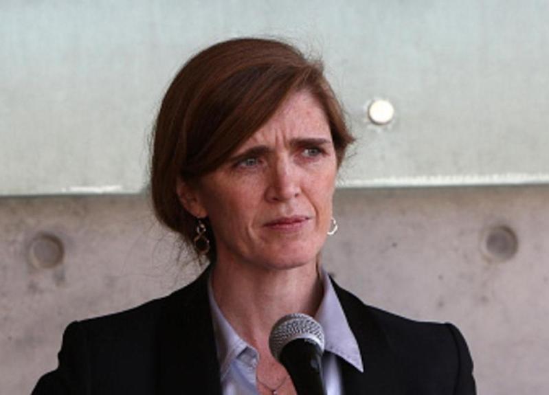 سفيرة الولايات المتحدة لدى الامم المتحدة سامنثا باور