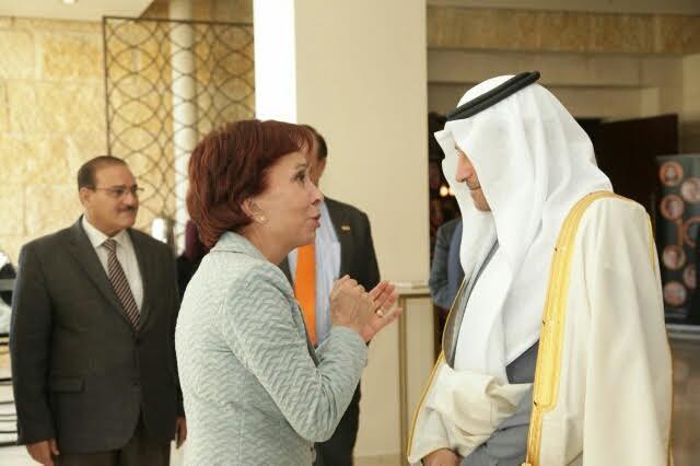"""سفيرنا بالأردن يحضر """"سن العاشرة"""" لصندوق الأمم المتحدة السنوي 1"""