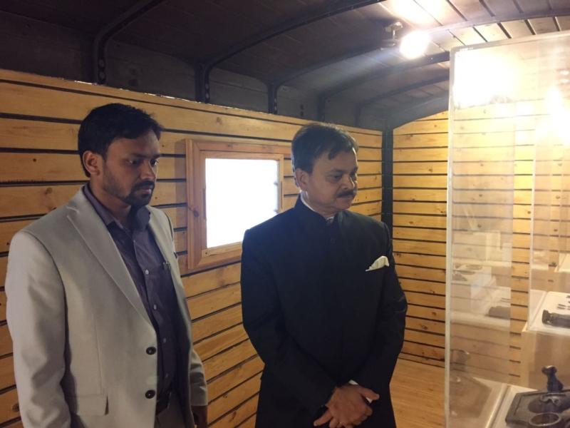 سفير الهند يزور قلعة تبوك (3)