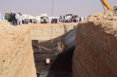 سقوط خزان ارضي يتسبب بوفاة وإصابات في عنيزة