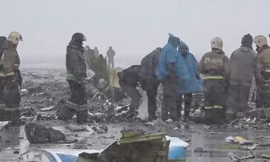 سقوط طائرة غلاي دبي بروسيا