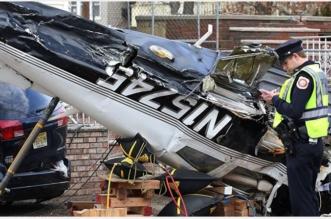 بالفيديو.. سقوط طائرة أمريكية فوق حي سكني بولاية نيوجيرسي - المواطن