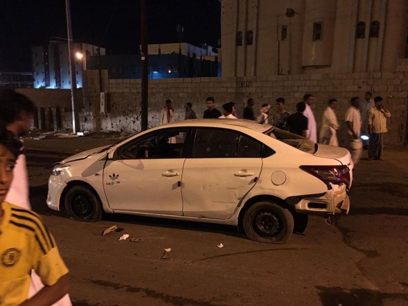 سقوط 3 مقذوفات متفرقة على صامطة