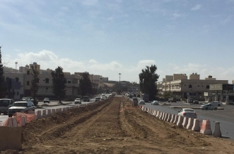 سكان خميس مشيط يعانون من تعثر المشاريع البلديه واهمها مشروع نفق المعارض 2