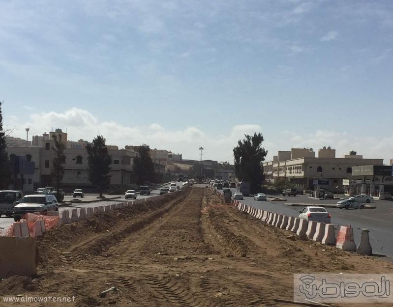 سكان  خميس مشيط  يعانون من تعثر المشاريع البلديه واهمها مشروع نفق المعارض (2)