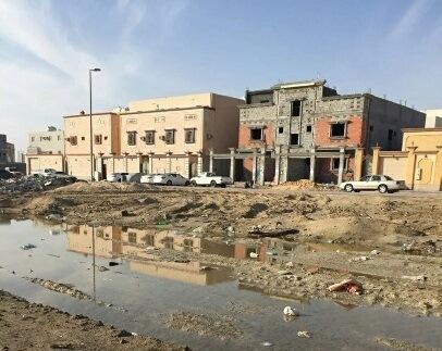 انتشار القمامة بضاحية الملك فهد