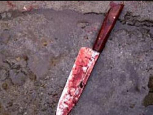 سكين قتل طعن