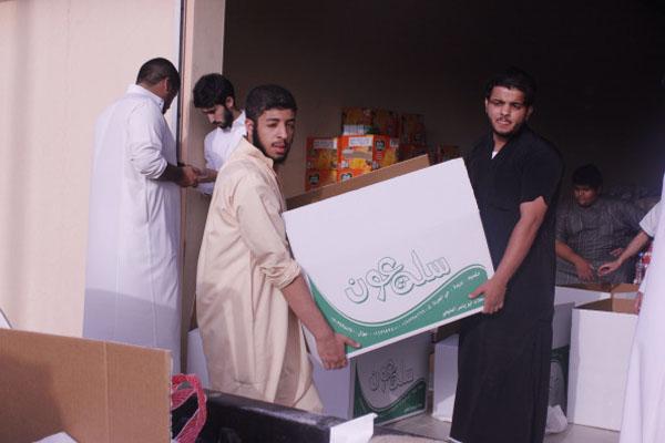 """بالصور.. """"عون التطوعي"""" يوزع 1200 سلة غذائية لمحتاجي القصيم - المواطن"""