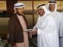 سلطان بن زيد ال نهيان  يُستقبل أعضاء وفد المركز العربي السباحي