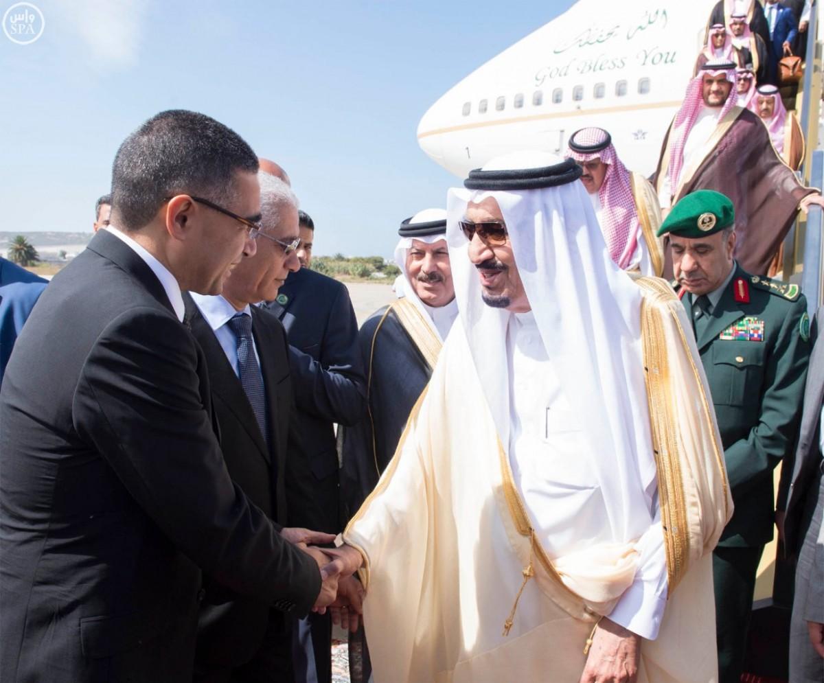 بالصور .. الملك سلمان يصل إلى طنجة - المواطن