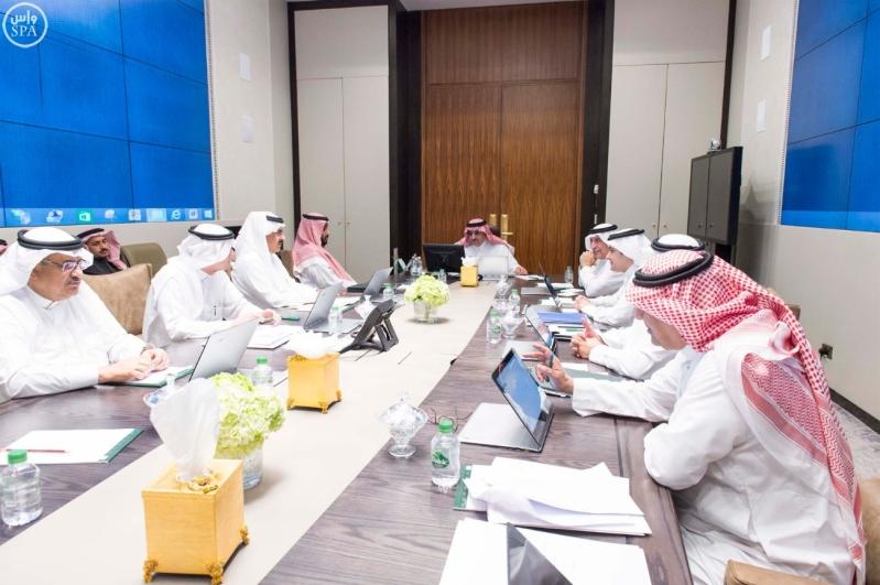 سمو ولي العهد يرأس اجتماع مجلس الشؤون السياسية والأمنية1 (1)