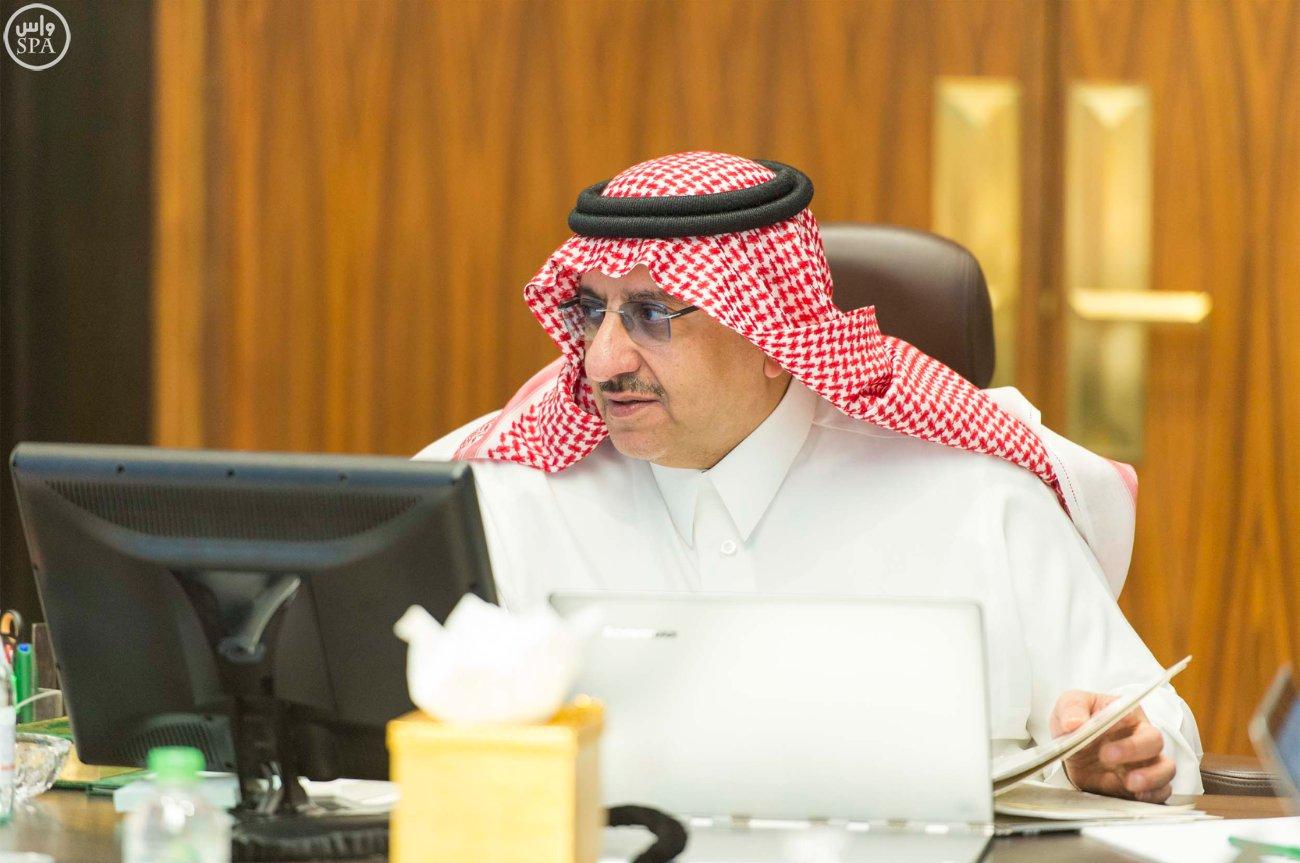 سمو ولي العهد يرأس اجتماع مجلس الشؤون السياسية والأمنية1 (2)