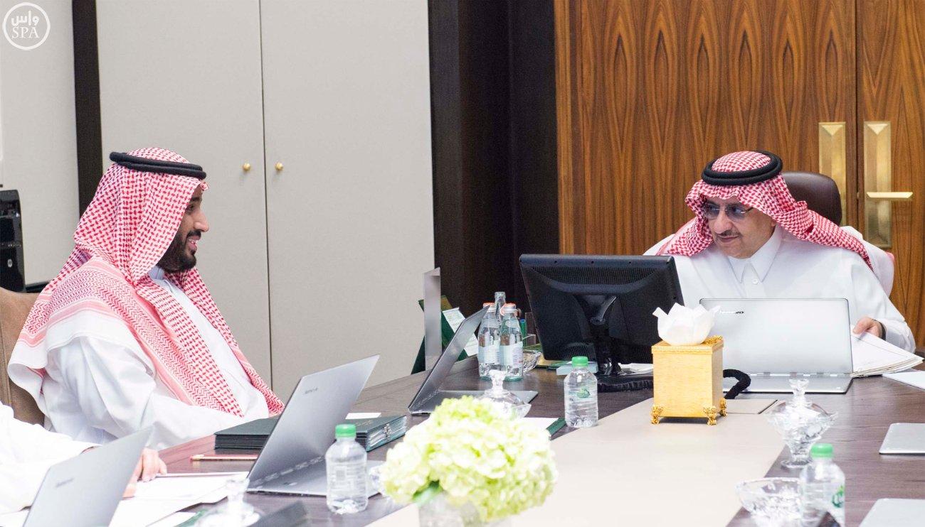 سمو ولي العهد يرأس اجتماع مجلس الشؤون السياسية والأمنية1 (3)