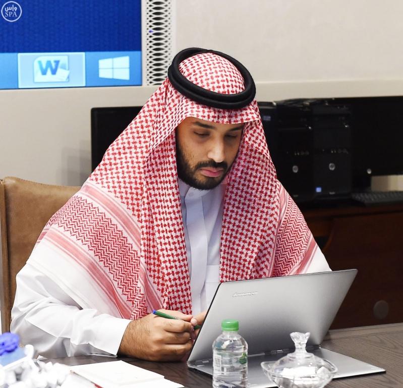 سمو ولي العهد يرأس اجتماع مجلس الشؤون السياسية والأمنية2
