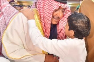 بالصور.. ولي العهد يستقبل أبناء شهداء الواجب من مختلف القطاعات الأمنية - المواطن