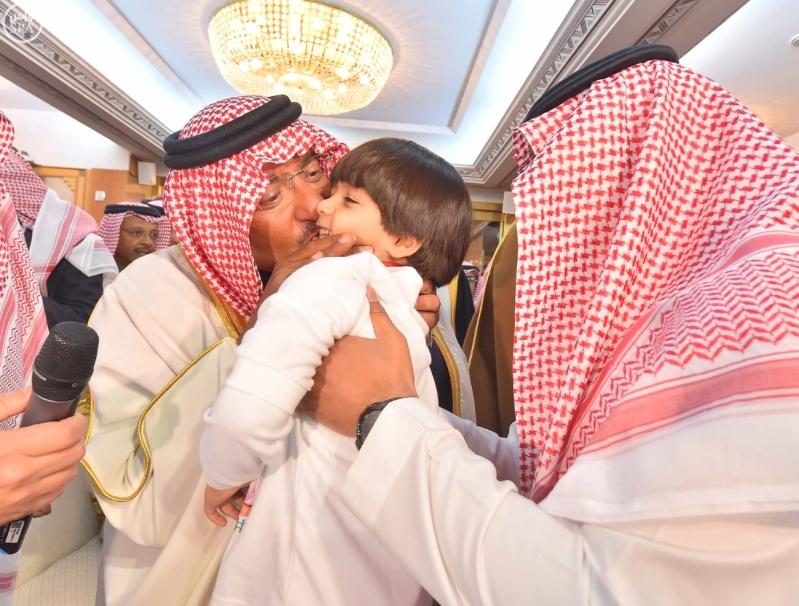 سمو ولي العهد يستقبل أبناءه أبناء شهداء الواجب من مختلف القطاعات الأمنية9