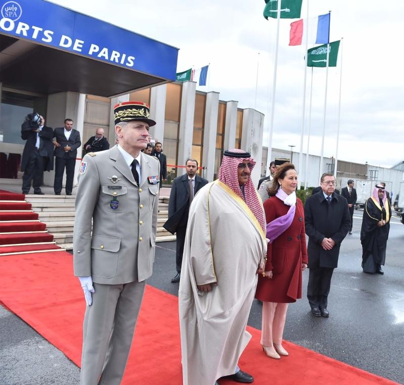 سمو ولي العهد يصل إلى جمهورية فرنسا في زيارة رسمية 9