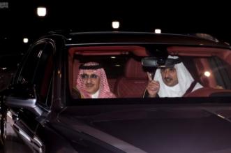 سمو-ولي-العهد-يغادر-الدوحة-بعد-تقديمة-واجب-العزاء-799x518