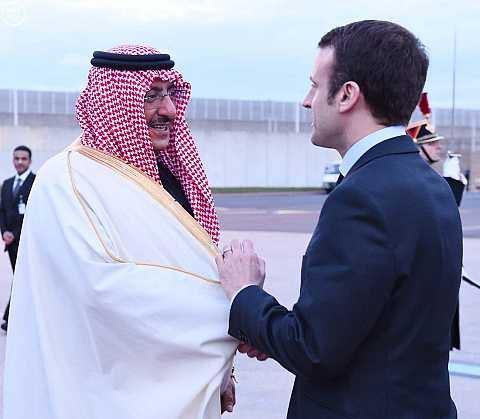 سمو ولي العهد يغادر فرنسا عقب زيارة رسمية لجمهورية2