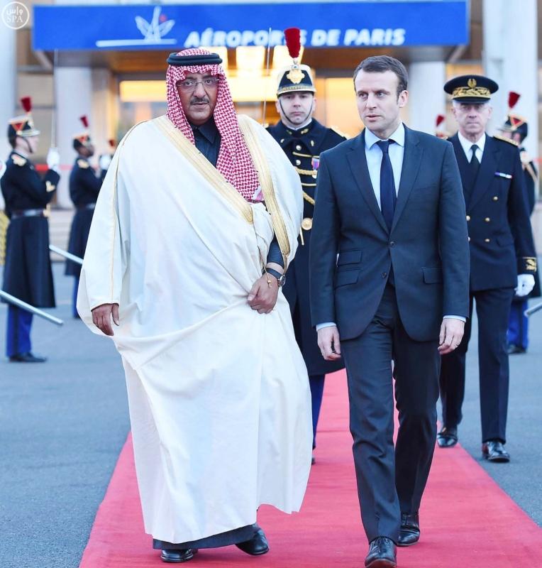 سمو ولي العهد يغادر فرنسا عقب زيارة رسمية لجمهورية3