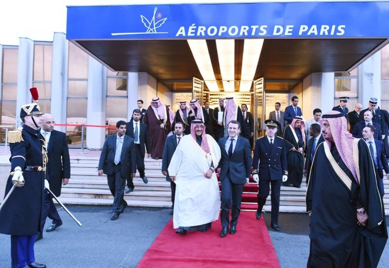 سمو ولي العهد يغادر فرنسا عقب زيارة رسمية لجمهورية6