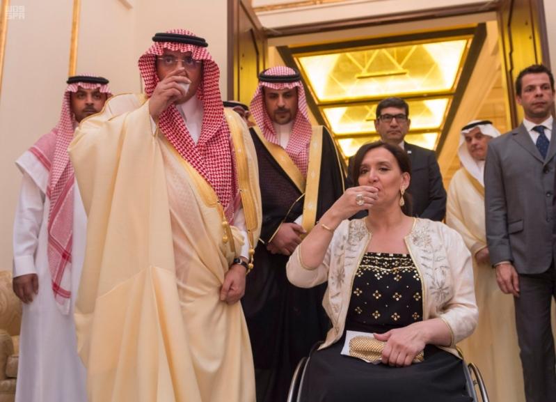 سمو ولي العهد يقيم مأدبة عشاء تكريماً لنائبة رئيس الأرجنتين 2