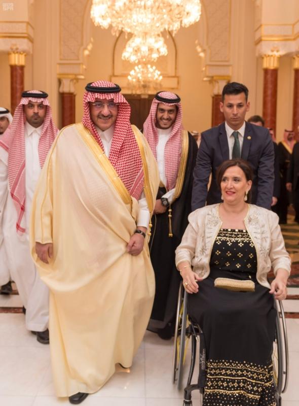 سمو ولي العهد يقيم مأدبة عشاء تكريماً لنائبة رئيس الأرجنتين 5