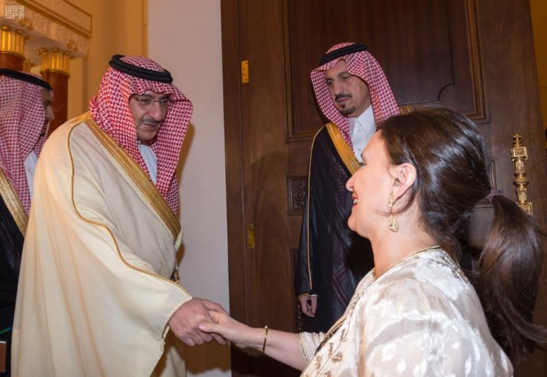 سمو ولي العهد يقيم مأدبة عشاء تكريماً لنائبة رئيس الأرجنتين 6
