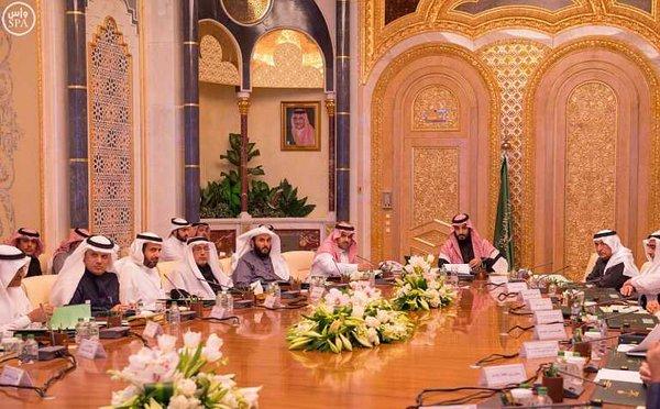 سمو ولي ولي العهد يرأس اجتماع مجلس الشؤون الاقتصادية والتنمية .