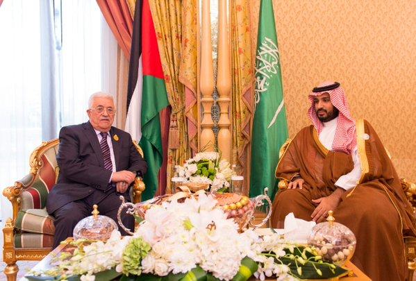 سمو ولي ولي العهد يلتقي أمير دولة قطر ورئيس دولة فلسطين ونائب رئيسة الأرجنتين.1
