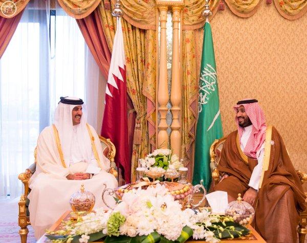 سمو ولي ولي العهد يلتقي أمير دولة قطر ورئيس دولة فلسطين ونائب رئيسة الأرجنتين.3