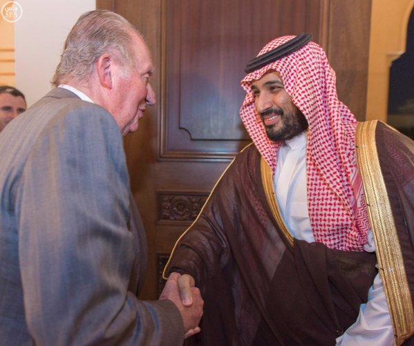 سمو ولي ولي العهد يلتقي ملك1