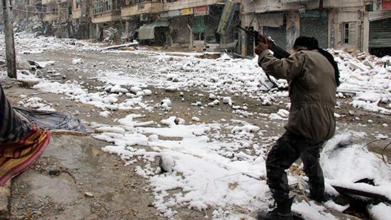 سوريا الجيش الحر - حرب