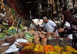 سوق الشورجة ببغداد والبقلاوة والزلابية