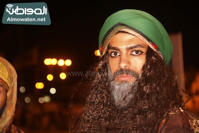 سوق عكاظ بمحافظة الطائف صوره لأحد المشاركين في جادة عكاظ (14)