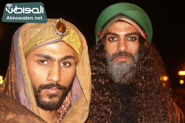 سوق عكاظ بمحافظة الطائف صوره لأحد المشاركين في جادة عكاظ (16)
