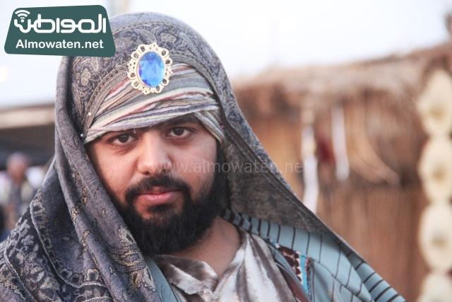 سوق عكاظ بمحافظة الطائف صوره لأحد المشاركين في جادة عكاظ (3)