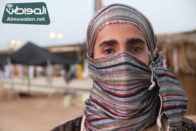 سوق عكاظ بمحافظة الطائف صوره لأحد المشاركين في جادة عكاظ (6)