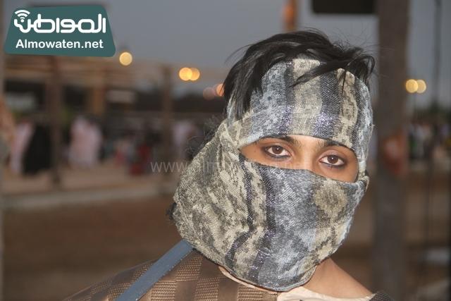 سوق عكاظ بمحافظة الطائف صوره لأحد المشاركين في جادة عكاظ (9)