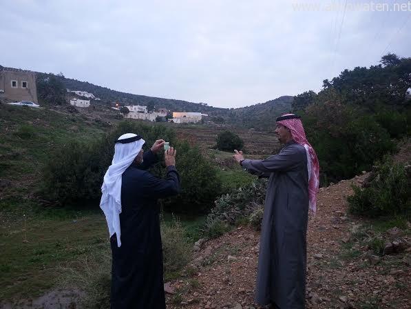 سياح اماراتيون بأبها  (3)